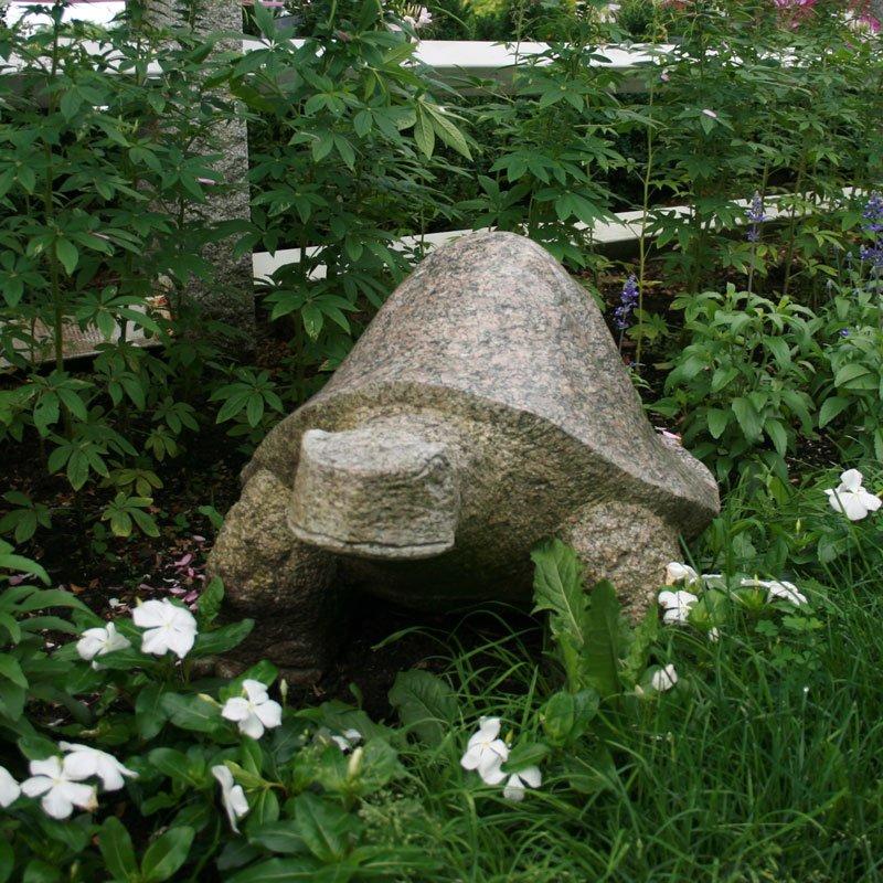 Stone Turtle Statue